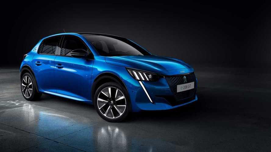 Peugeot 208 станет чистым электромобилем