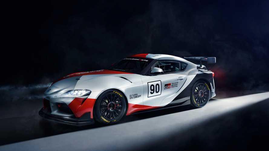 Toyota GR Supra GT4 Concept: preparado para la competición
