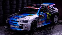 ken block new escort cosworth