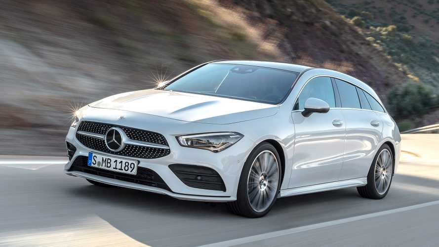 2020 Mercedes CLA Shooting Brake
