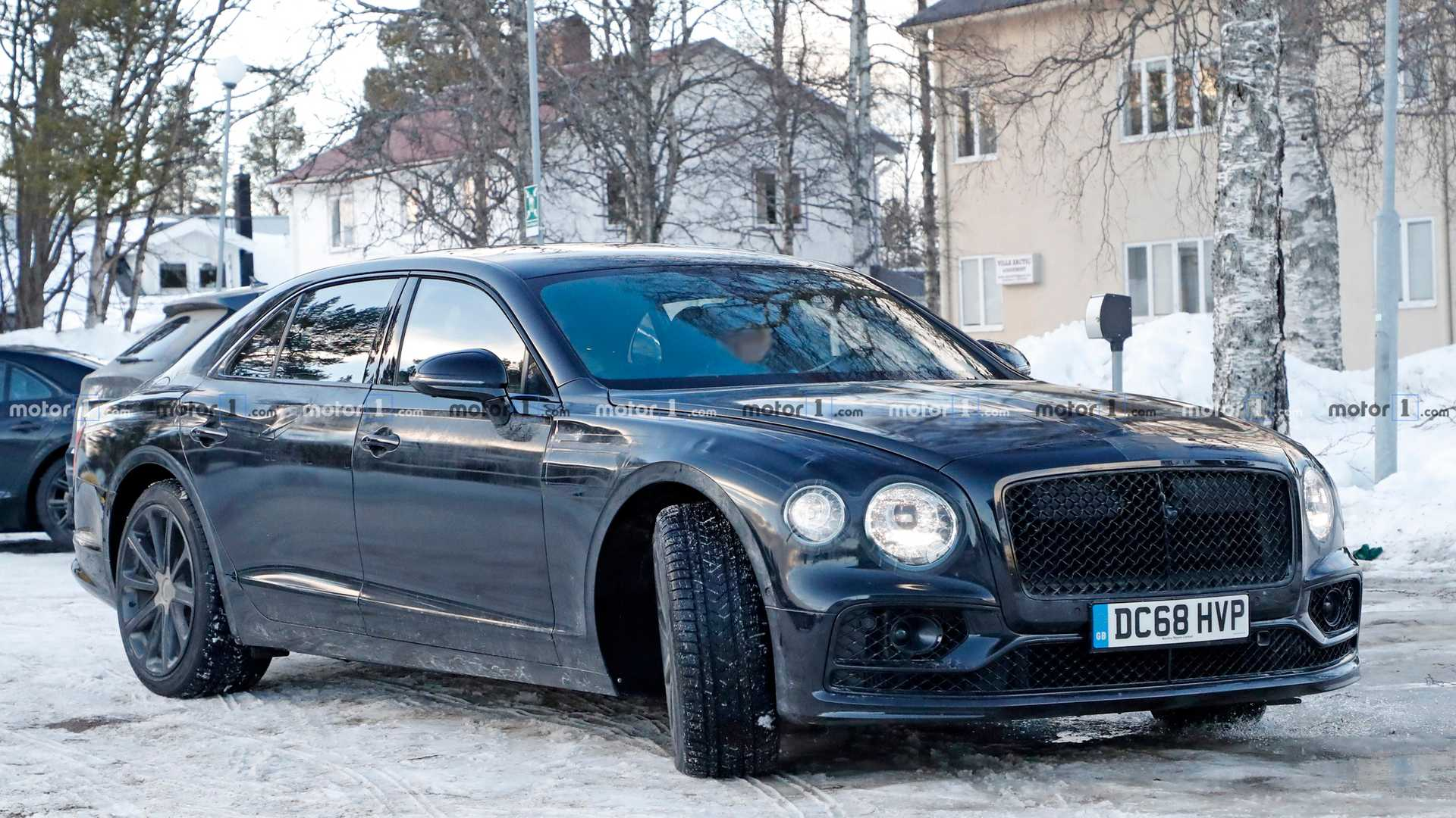 2020 Bentley Flying Spur Spied Fully Exposed In 40 Photos