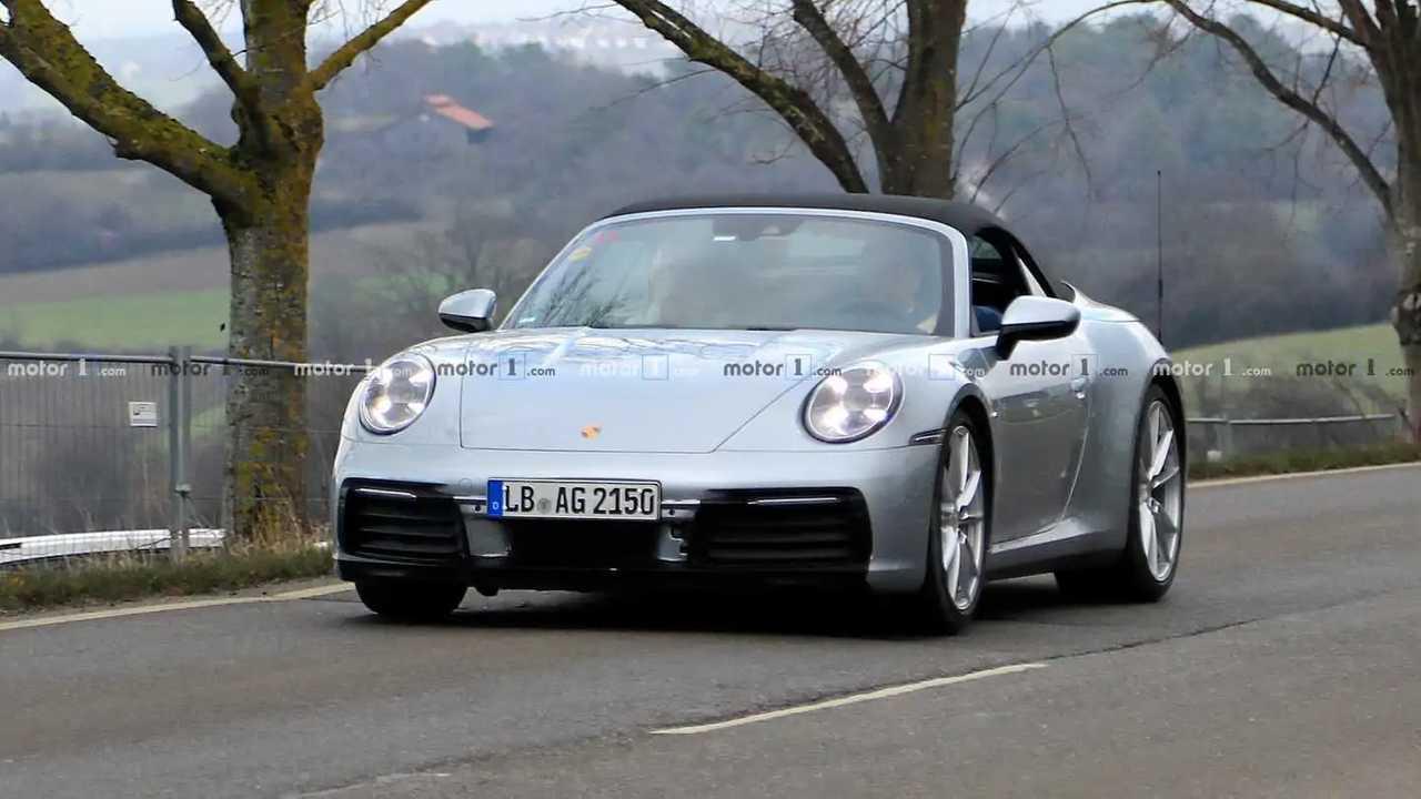 2020 Porsche 911 Convertible Front