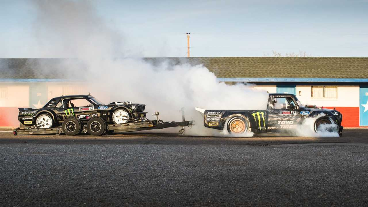 Gymkhana 10: The ultimate tire slaying tour (2018)