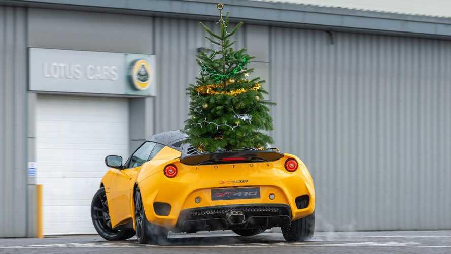 VIDÉO - Lotus vous souhaite un joyeux Noël à sa manière