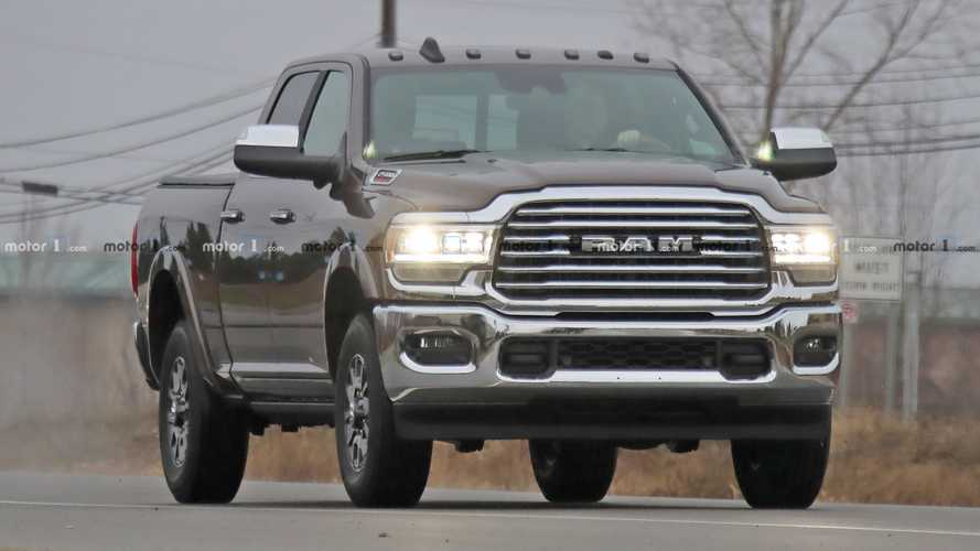 2020 Ram 2500 HD Spy Shots With Interior