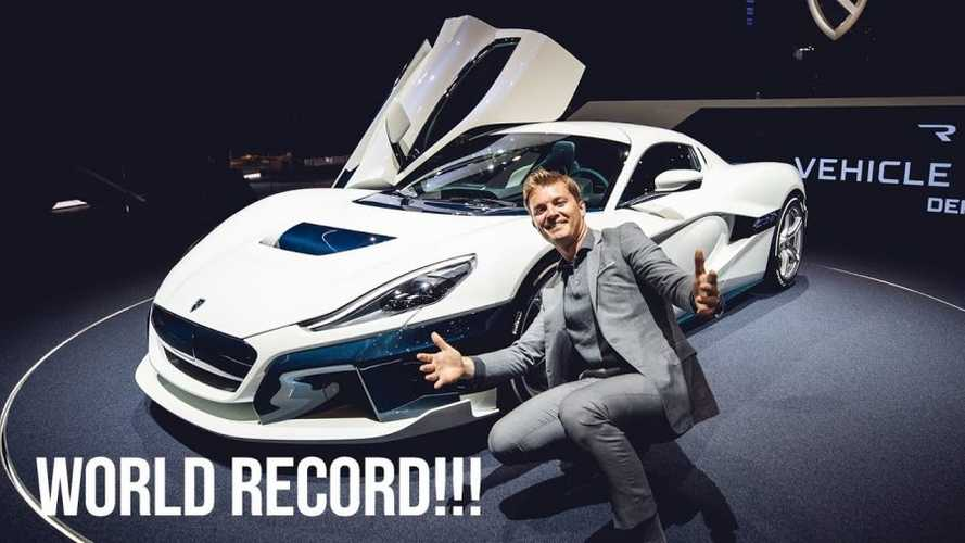 Check Out The New Rimac C_Two With Nico Rosberg