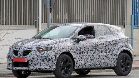 Flagra: Renault Captur 2020 terá versão híbrida 40% mais econômica