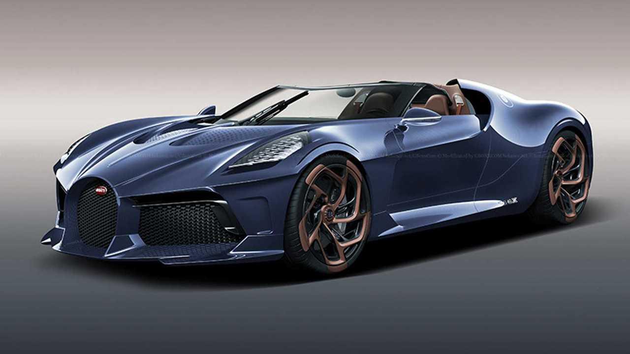 Bugatti La Voiture Noire Roadster rendering lead image