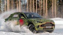 Aston Martin DBX en Suède