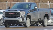 GMC Sierra HD Regular Cab Spy Shots