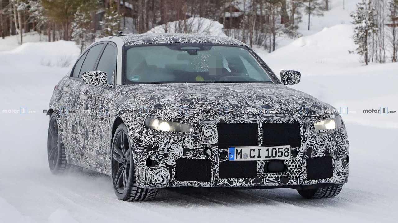 BMW M3 2019, fotos espía