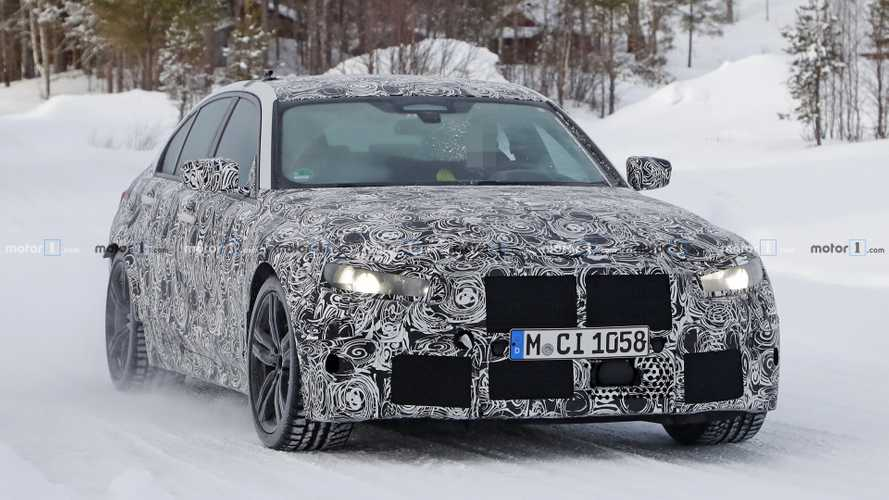 New BMW M3 Spied Not Willing To Reveal Its Secrets