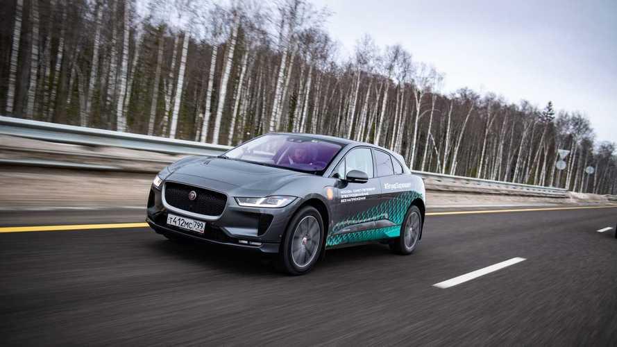 Из Санкт-Петербурга в Москву на Jaguar I-Pace