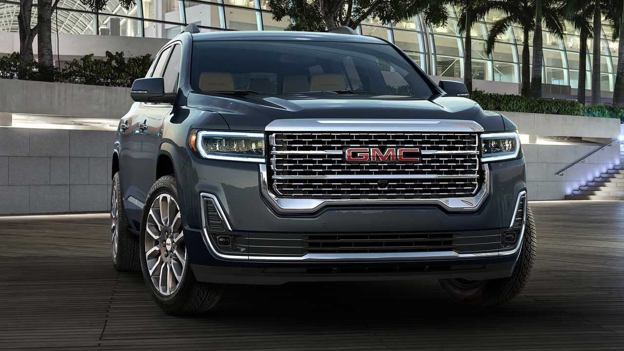 2020 GMC Acadia Refresh Revealed With New Turbo 2.0L Engine