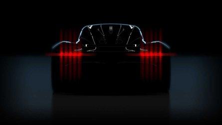 Megérkezett az első fotó az Aston Martin újabb hiperautójáról