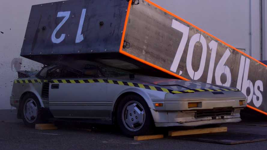 Classic Toyota MR2 Crushed by Mythbusters Sparks Outrage