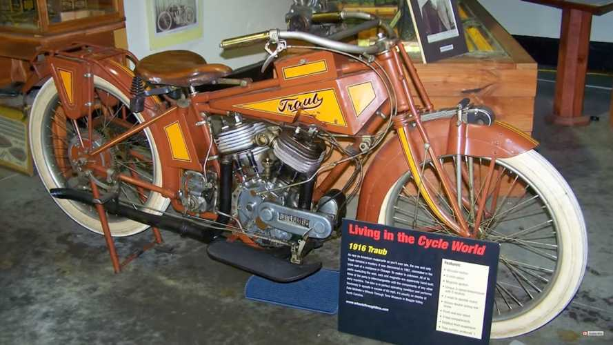 The Strange Story Of The Traub Motorcycle