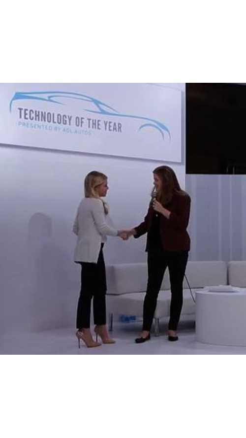 Video: AOL 2013 Technology of the Year Presentation - Tesla Supercharger
