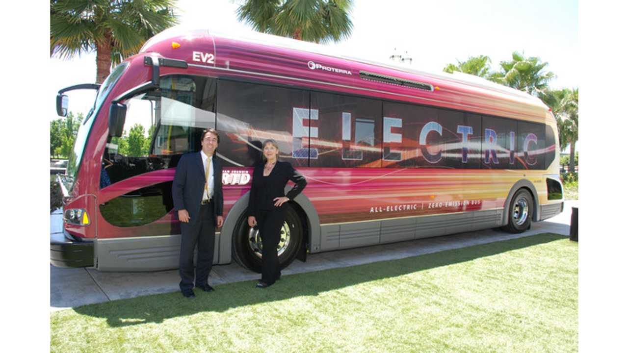 Proterra Sells Ten Battery-Electric Transit Buses to TARC