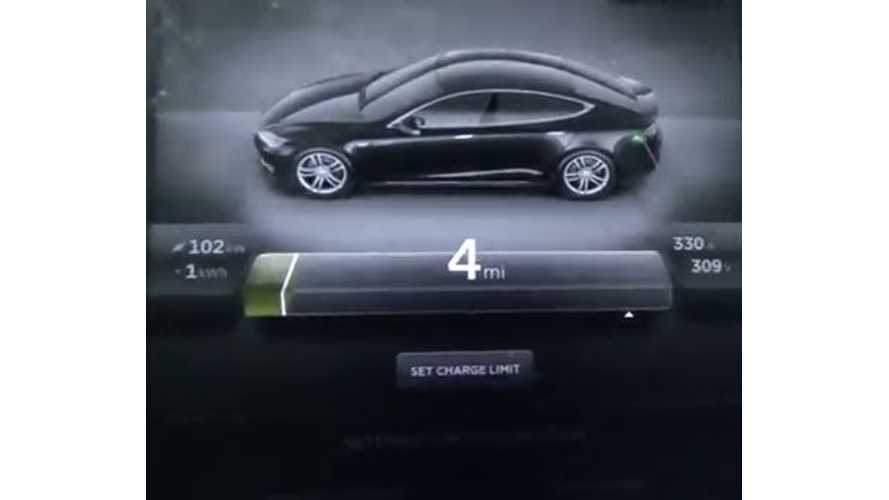 Video: Tesla Model S 60 kWh Now Supercharges at Over 100 kW Thanks to Firmware Update