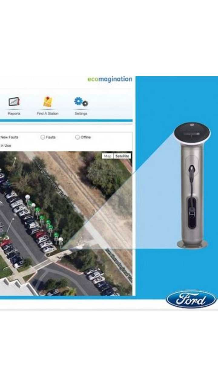 Ford to Install GE WattStation Chargers at