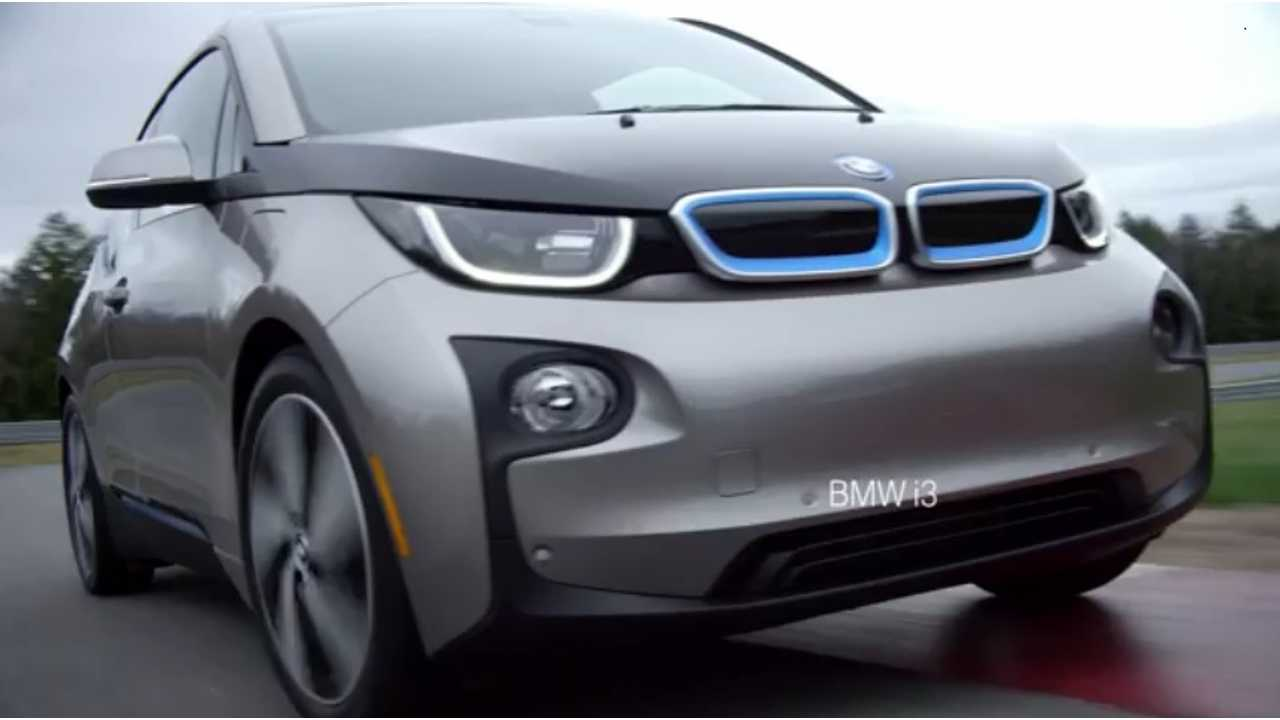 Rather Certain There's An Electronaut Sitting In This BMW i3
