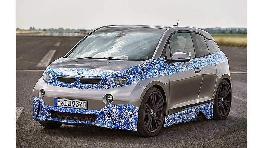 Check the Date: BMW M i3 Spotted!