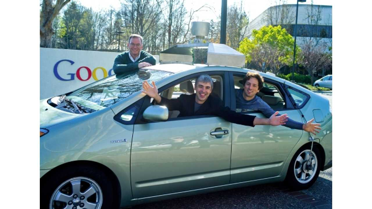 Google Now Considers Entering Electric Vehicle Industry