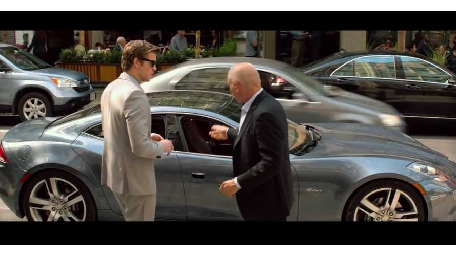 Fisker Karma Has Its Swan Song In New Harrison Ford Thriller - Paranoia (video)