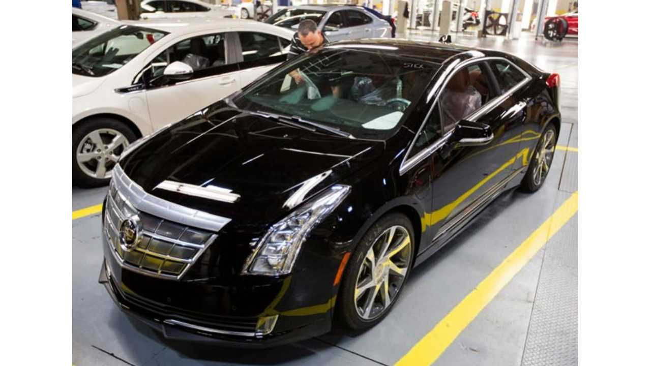 First Cadillac ELR Pre-Production Vehicles Have Now Been Built