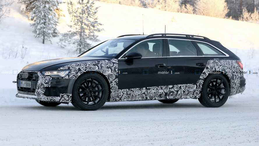 Audi A6 Allroad spied getting ready to lure in anti-SUV crowd