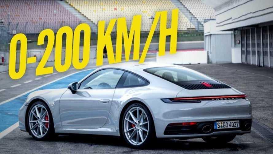 VIDÉO - La Porsche 911 Carrera S atteint les 200 km/h en 10 secondes