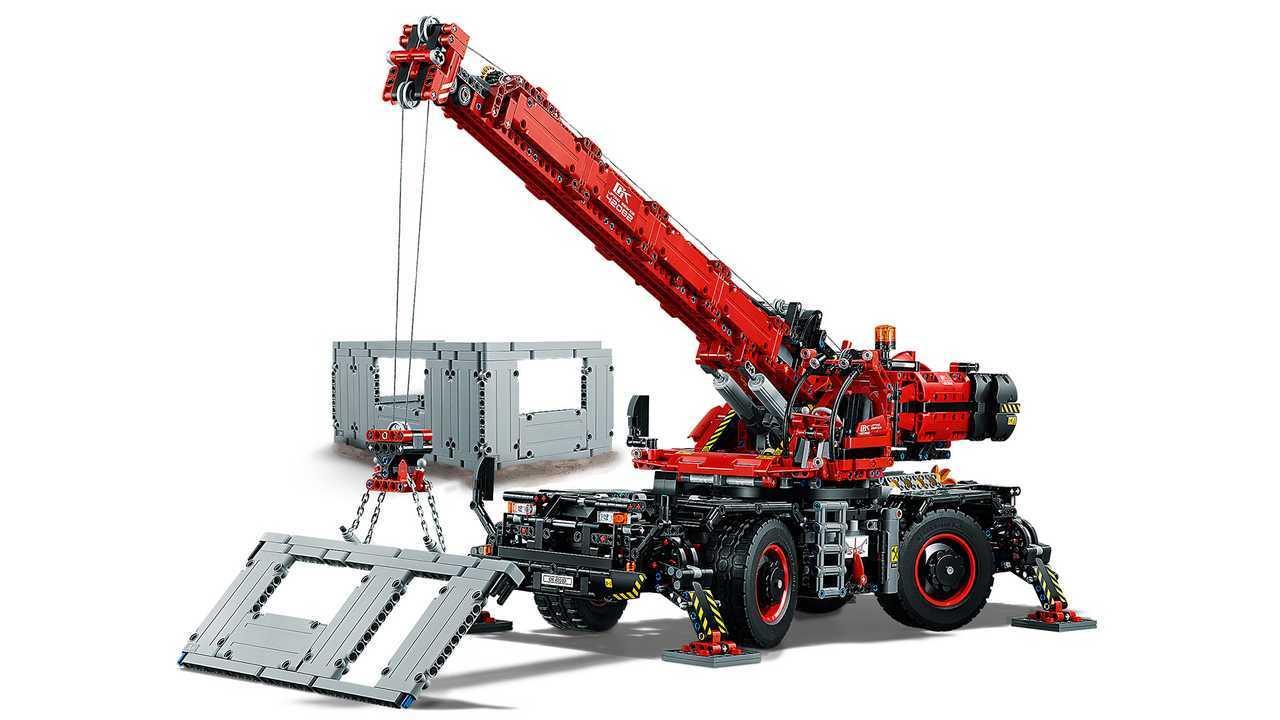 Geländegängiger Kranwagen von Lego Technic