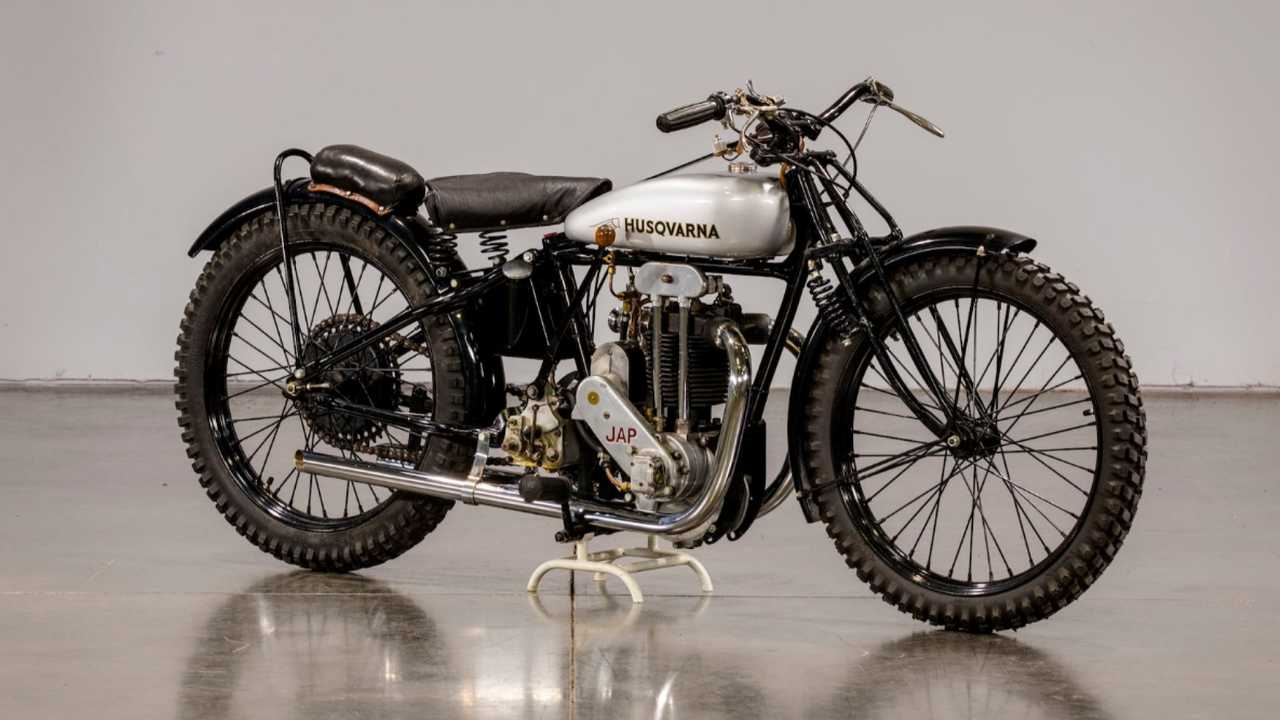 1929 Husqvarna Model 30 A Dirt Tracker