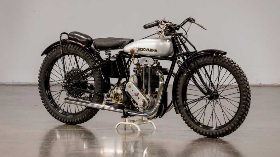 This 1929 Husqvarna Shows The Roots Of Flat Track Racing