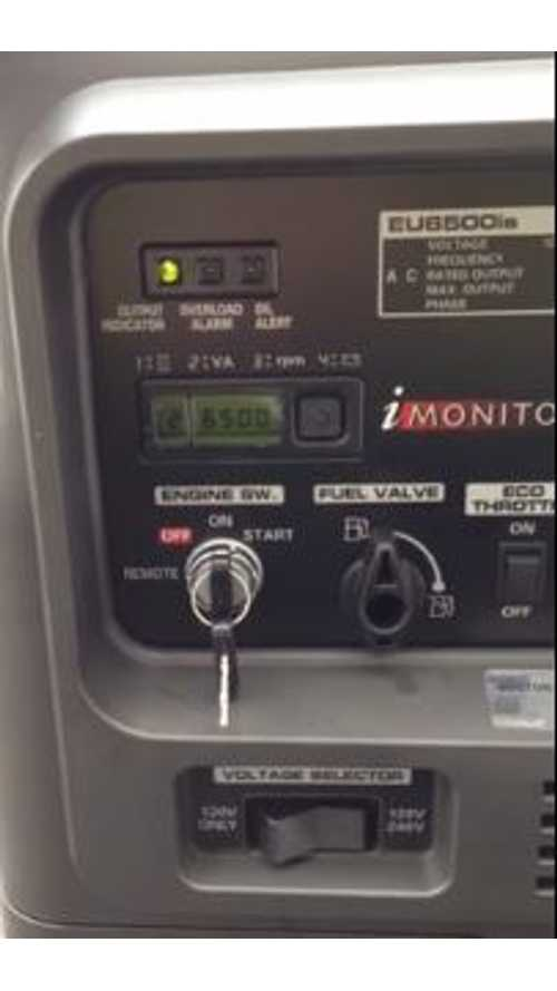 Video: Charging a Tesla Model S Via a Honda EU6500iS Generator