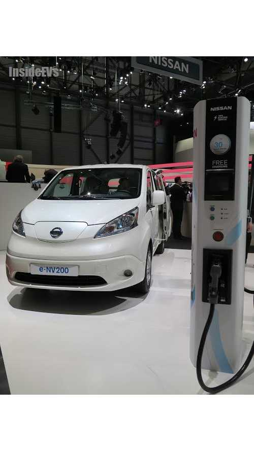 Production Nissan e-NV200 Van Revealed In Geneva, Sales Start In June