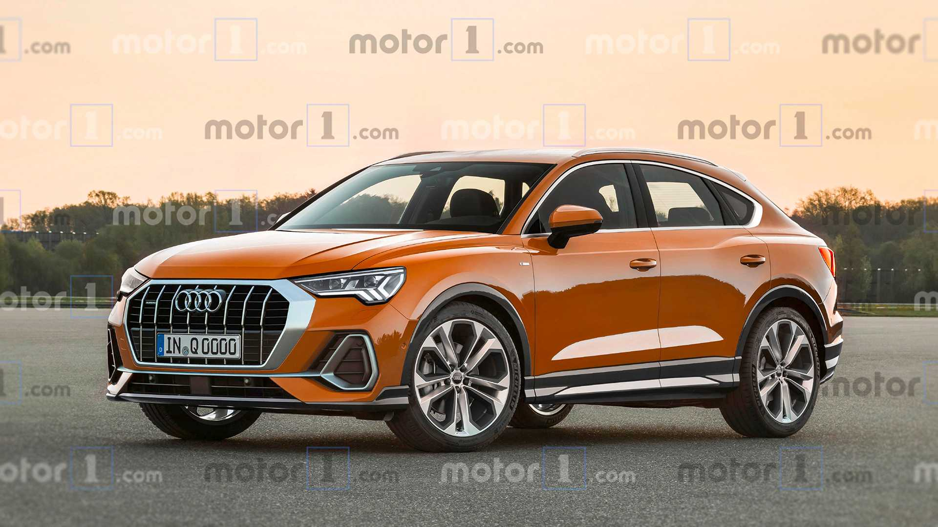 2020 Audi Q4 Unveiled! Release Date And Price >> First Ever Audi Q4 Loses All The Disguise In New Rendering
