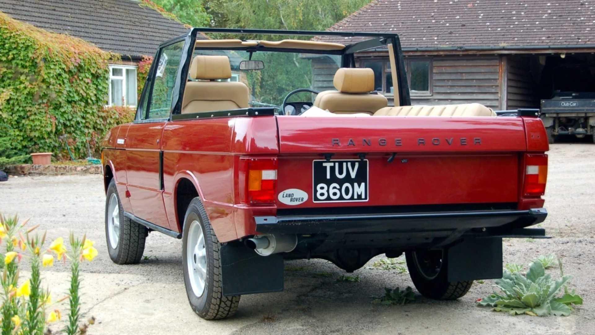 """[""""Range Rover SVC conversion""""]"""