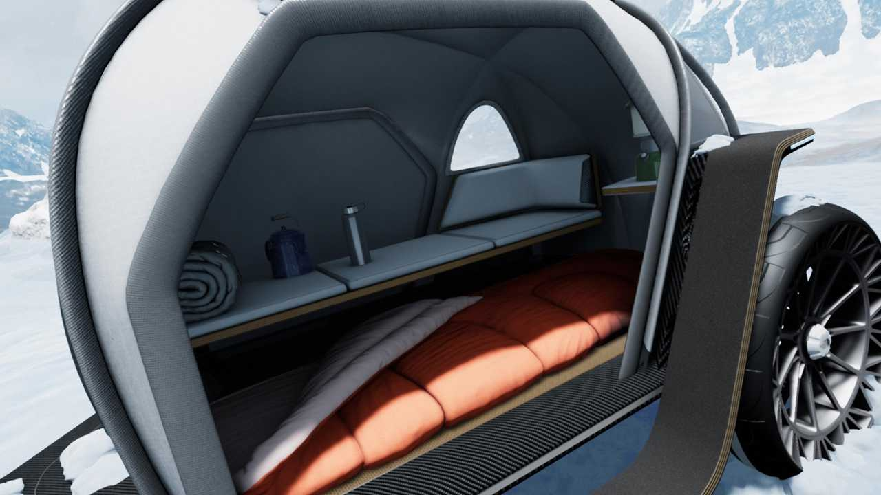 BMW and Northface Futurelight Camper Concept