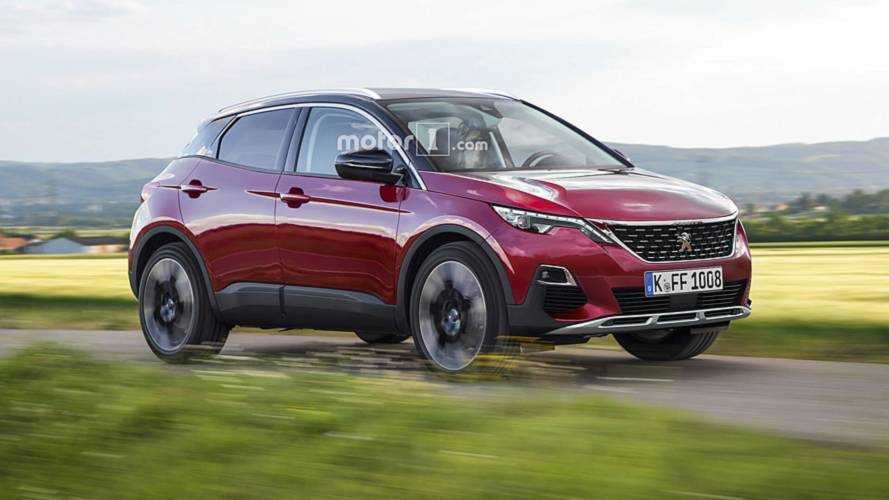 ¿Será así el futuro Peugeot 1008?