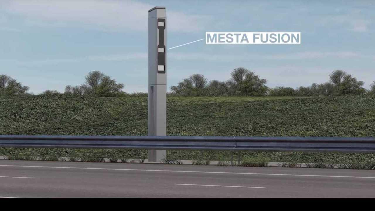 Radar tourelle Mesta Fusion