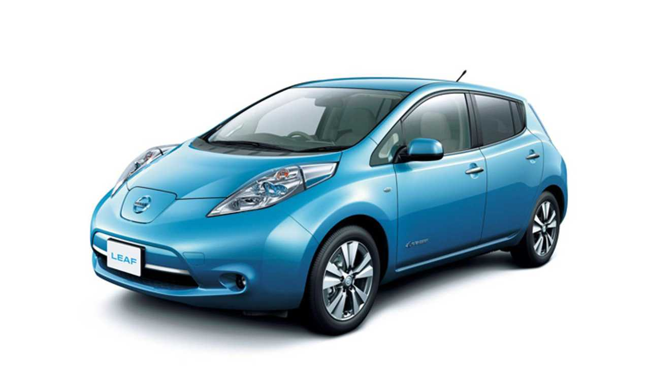New 2013 Model Year LEAF (Pictured: New Top Of The Line SV Model w/Optional 17