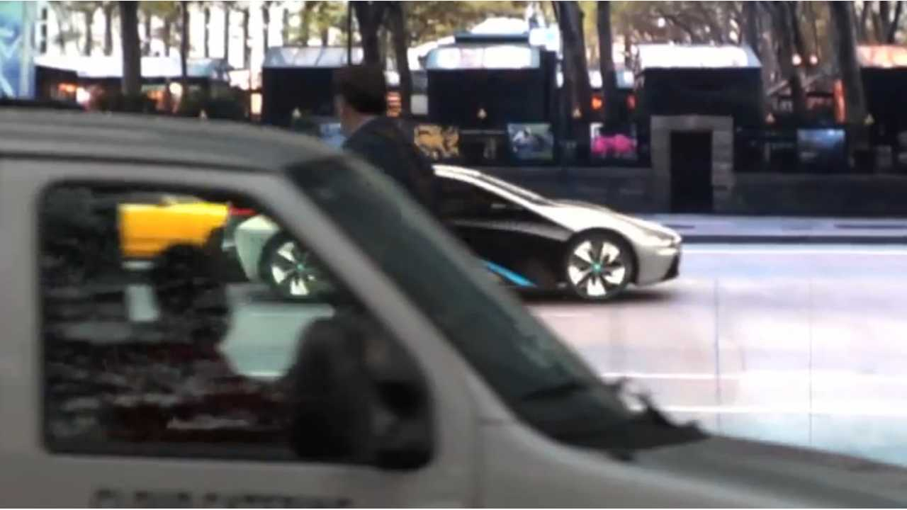 BMW Turns Every Vehicle In New York Into An i3 And i8 (Video)