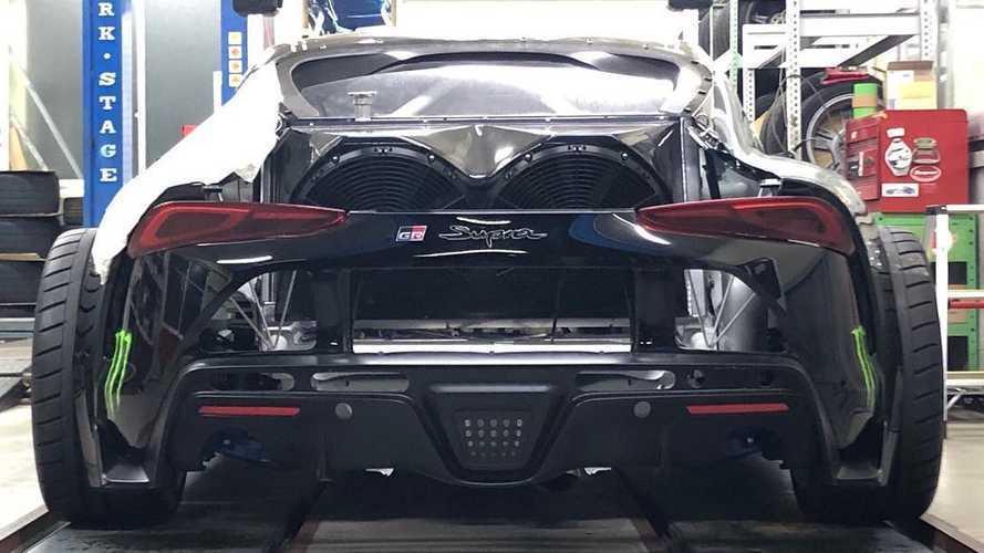 Cette Toyota Supra possède un moteur 2JZ-GTE de plus de 800 chevaux