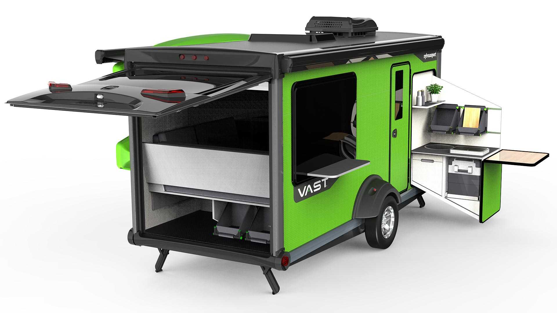 SylvanSport Vast Debuts As This Year's Coolest Camping Trailer