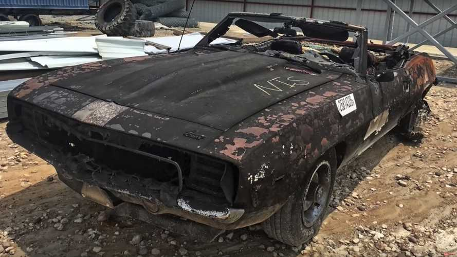 Miracle Restoration Of A Fire-Damaged Chevrolet Camaro Pace Car