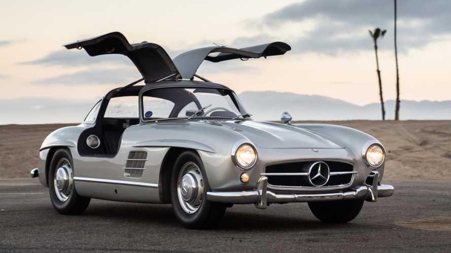 Hoy se subasta el Mercedes 300 SL Gullwing de Adam Levine