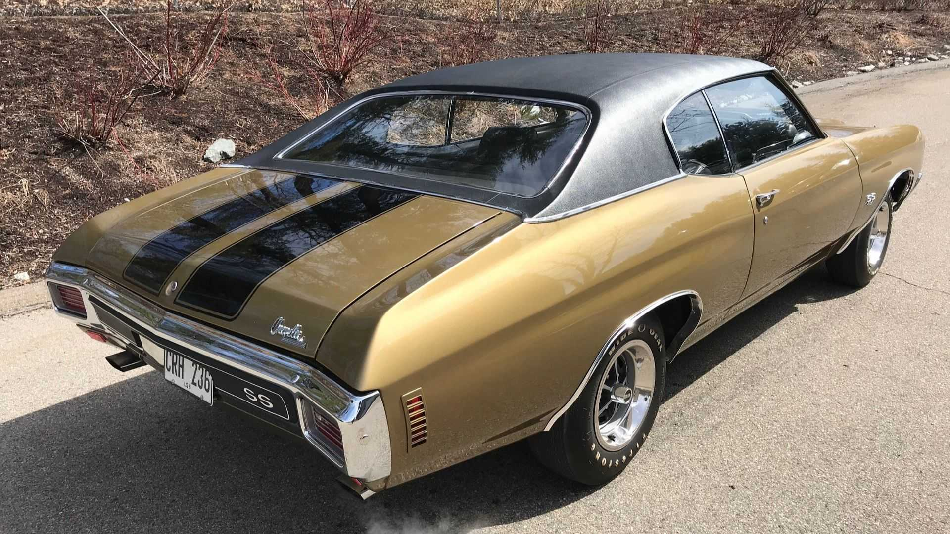 This 1970 Chevrolet Chevelle SS LS6 Is A Rubber Melting