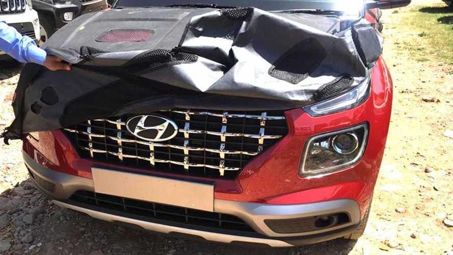 Novo Hyundai Venue: vazam imagens do SUV menor que o Creta